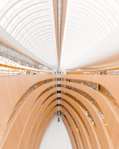 🔸🚶🇨🇭🔸︱wood you? Zürich Library Minimalist Architecture Minimal Exterior EyeEm Best Shots EyeEmNewHere First Eyeem Photo EyeEm Selects Hall White Canon Rays Of Light Interior Design Architecture_collection Architectural Column The Week on EyeEm Leading Lines Symmetrical Minimalism Switzerland Arch City Modern Architecture Built Structure Architectural Design Ceiling Symmetry Interior