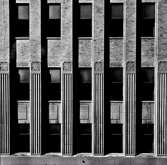 The Architect - 2017 EyeEm Awards Architecture Building Exterior Built Structure Building No People Window Full Frame Day Sunlight In A Row Repetition