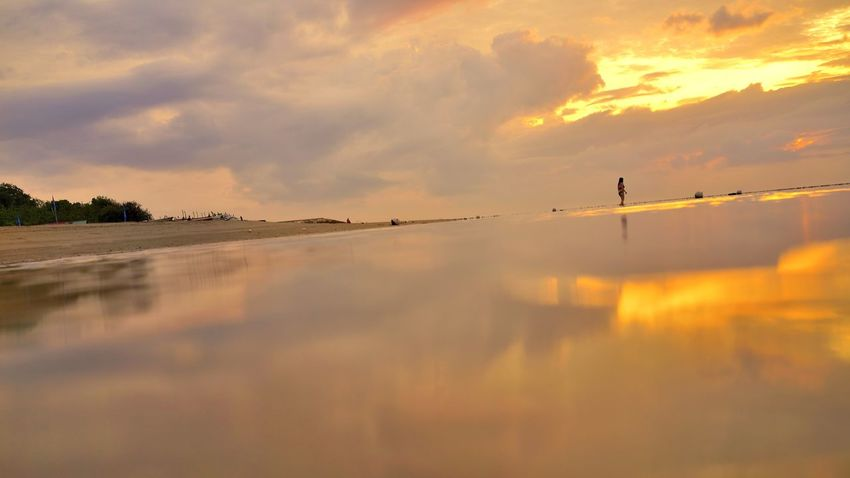 Sanur Beach, Bali, Indonesia. Bali Bali, Indonesia Sanur Beauty In Nature Cloud - Sky Day Nature Outdoors Scenics Sky Sunset Tourism Tranquil Scene Tranquility Travel Destinations Water