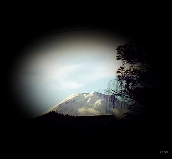 Morning Mountain Vignette Art Vista All Good Edit Mountain Silhouette Beauty In Nature Nature No People Landscape Sky Tree Day Outdoors