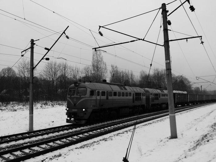 the iron snake Monochrome Blackandwhitephotography Pictureoftheday EE_Daily: Black And White Trainporn Trainphotography EyeEm Best Shots Blackandwhite EyeEm Best Shots - Black + White B/w Diary