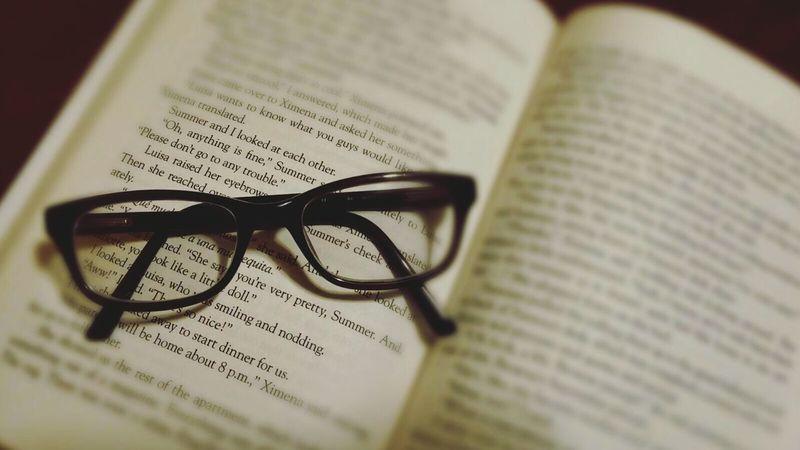 Glasses Focus Black Glasses Love Of Reading Blurred