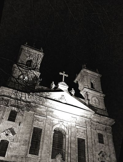 EyeEm Porto Catholic Church IPhoneography Christmas Darkness And Light
