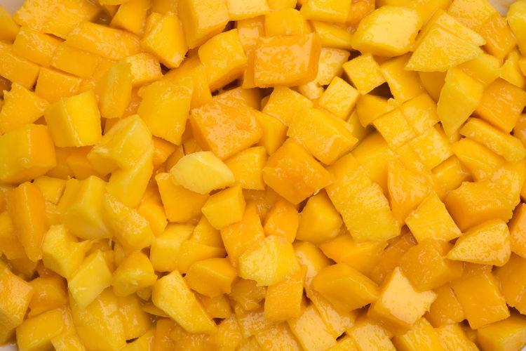 Full frame shot of yellow fruit