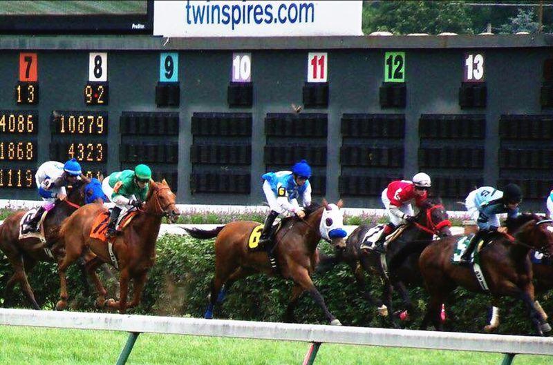 Jockey Racing Churchill Downs Horse