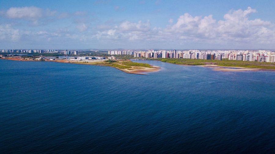 Aracaju - Sergipe Sea Sky Water Cloud - Sky Architecture Waterfront Building Exterior City