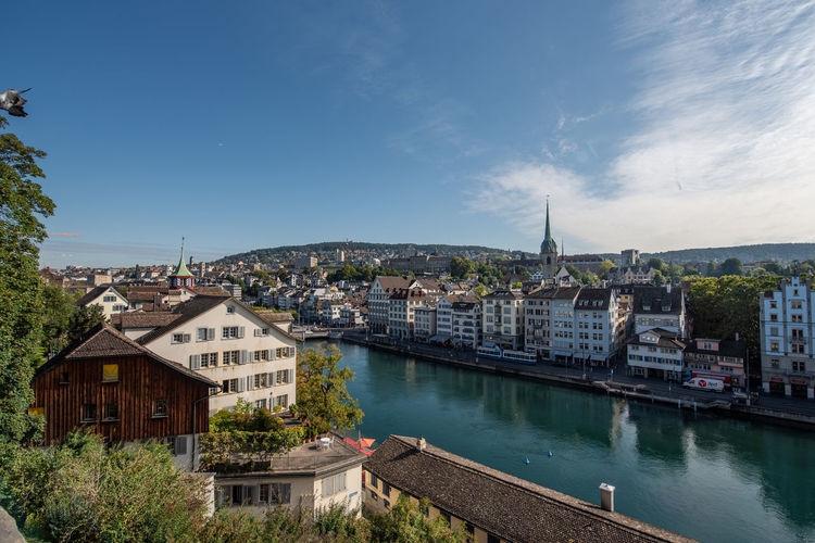 Zurich view from lindenhof