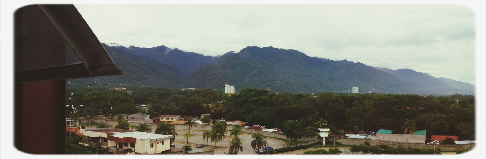 The view from work, the 6th floor allows for a more magical sight of el merendon Montain  View Hights Sps First Eyeem Photo