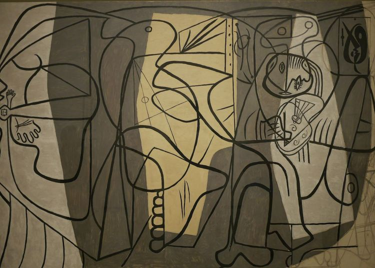 Art And Craft Art Creativity Close-up Illustration Human Representation Painted Image Art Museum Pablo Picasso Musee Soulages Rodez Soulages Museum Aveyron Artist Rodez Painting Cubism Soulages Museum Picasso Picasso Art  Paintings Expo Art, Drawing, Creativity Complexity Culture