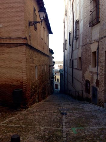 Building Exterior Architecture Built Structure Toledo Spain Toledo España Outdoors Sky Lane The Way Forward No People Day Finding New Frontiers