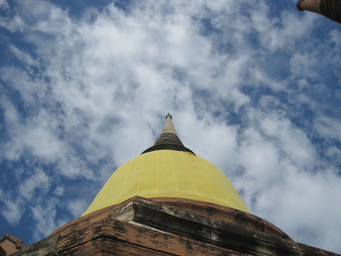 Ayuthaya Pagoda วัดใหญ่ชัยมงคล Architecture