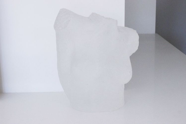 A Woman's Bust Indoors  Close-up Bust  Womansbust Marble Clearmarble White Marble Art Art Gallery