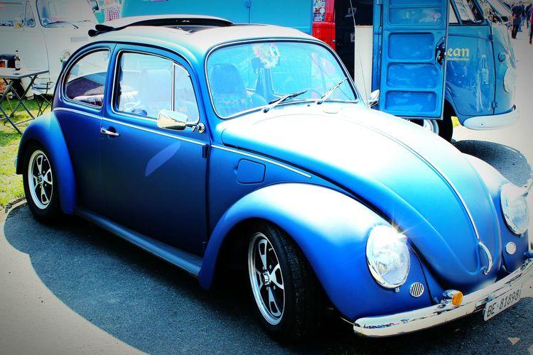 Käfer Blau Oldtimer Lampe Käfertreffen