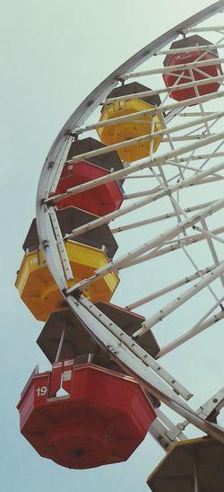 Ferris Wheel Santa Monica Pier Colors Of Autumn Relaxing
