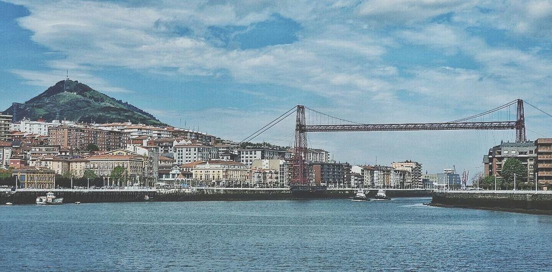Puentecolgante Portugalete Euskalherria Bizkaia