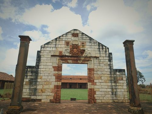 St. Cosme and Damian ruins in Paraguay. Ruins Religious Architecture Paraguay History