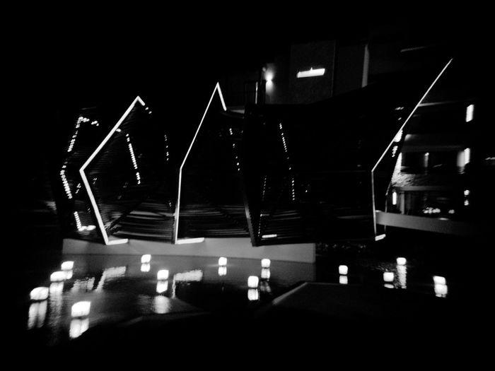 Night Illuminated No People Outdoors City Neon Architecture The Architect - 2017 EyeEm Awards