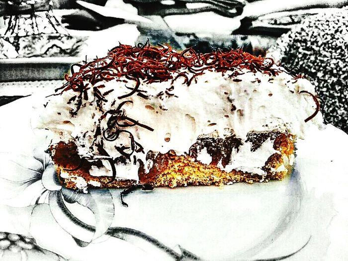 Cake Apple Cokolate Sweet