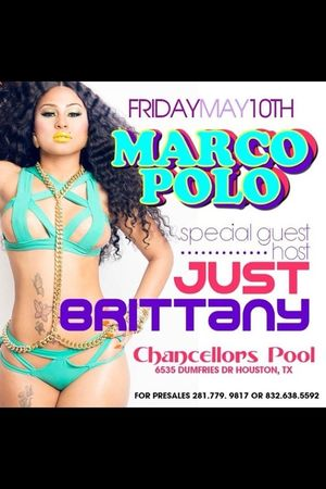 Tonight @10!! Just Brittany Pool Party!! If You In Houston Come On Out!!! #TURNUP