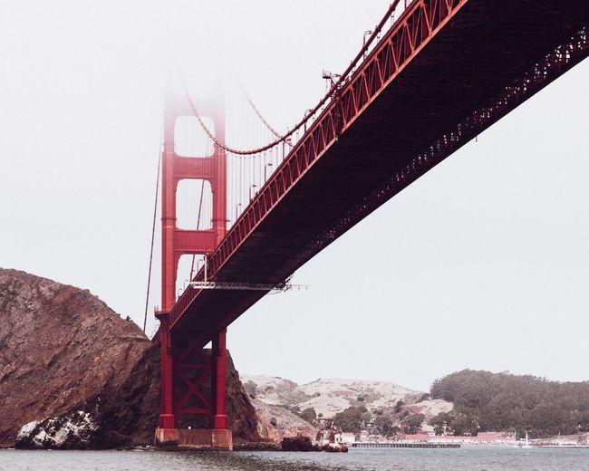 The Golden Gate Bridge enclosed by San Franciscos iconic sea fog. Carlthefog USA GoldenGateBridge California Sanfrancisco First Eyeem Photo
