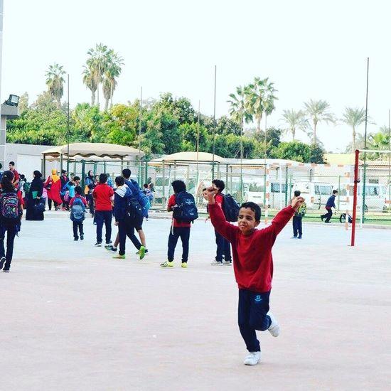 School Child Boys Happiness Childhood Playing School Freedom Happy