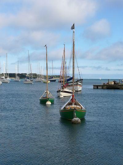 Sailing Ship Trinite Sur Mer France Harbor Bretagne Nautical Outdoors Atlantic Ocean Holidays Miles Away