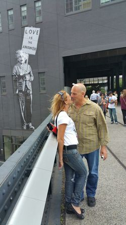 What Einstein said! Loveistheanswer Better Together Newyorkcity PeoplesParkInTheSky The High Line