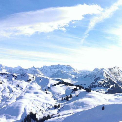 Lunch Sunshine Ski Gstaad nofilter