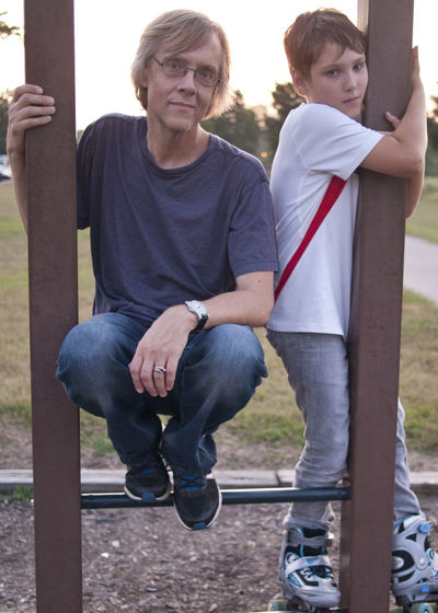 Taken by my lovely wife and Bonus Mom Kitka13 Bonding Casual Clothing Day Father Father & Son Fatherhood Moments Full Length Kidsphotography Leisure Activity Lifestyles Love Outdoors Person Togetherness