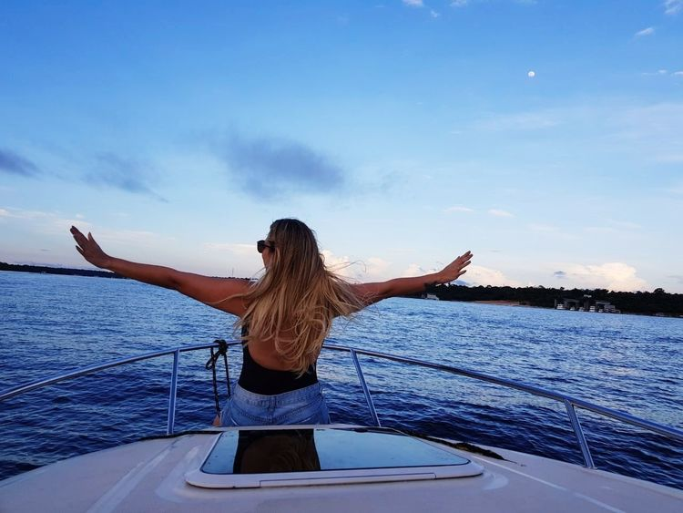 Only Women One Woman Only Water Nautical Vessel Adult Adults Only One Person