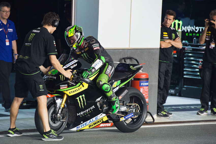 MotoGP riders during the final preseason test before the start of the 2016 MotoGP season Losail LosailCircuit Motogp MotoGP2016 Motorcycle Motorsports Polespargaro Preseason Qatar Race Racing Test