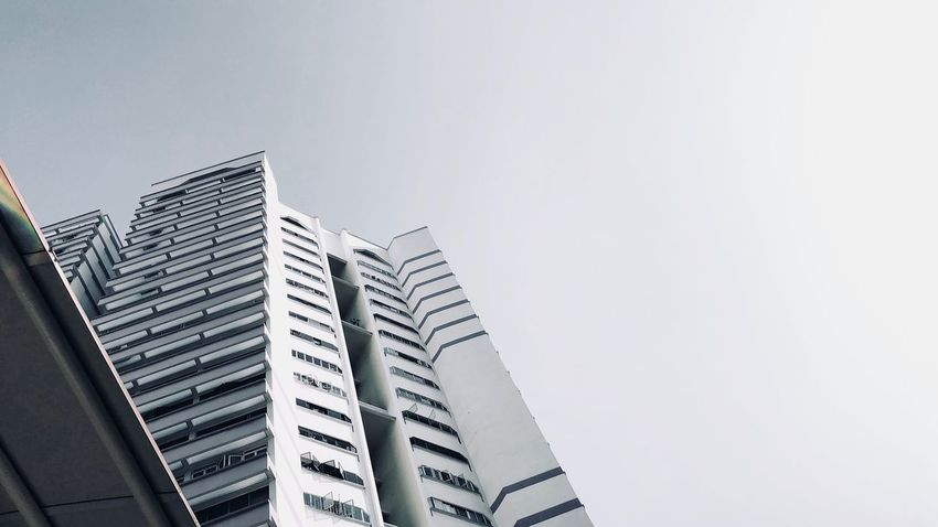 Copy Space Modern Clear Sky Skyscraper Low Angle View Architecture The Graphic City City Building Exterior No People Outdoors Day Sky