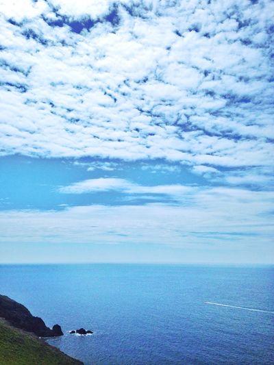 Incredible Clouds Clouds Devon United Kingdom Ocean