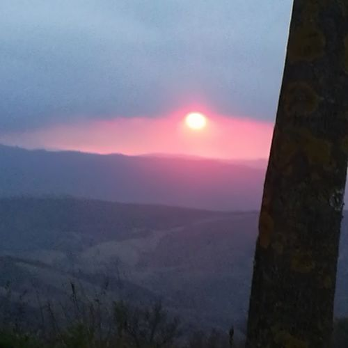 Occhio di Dio An Eye For Travel Sun Outdoors Mountain Travel Sunset Sky Nature