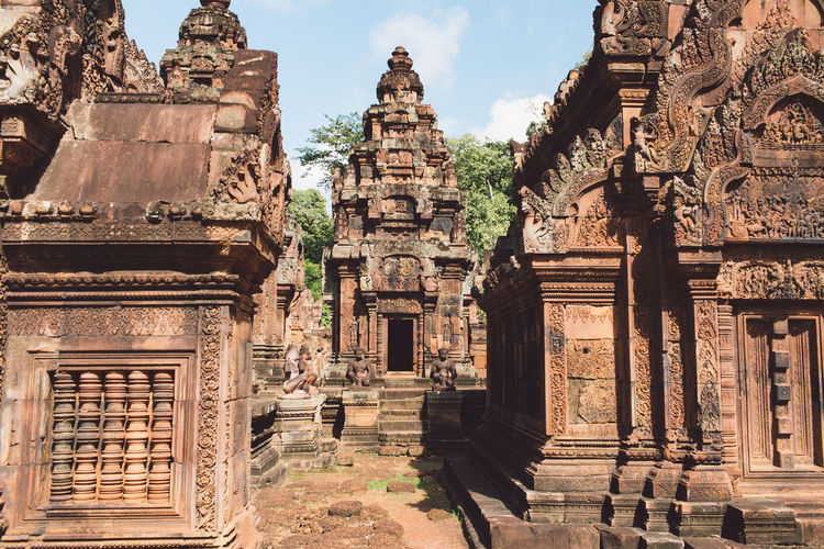 Siem Reap Cambodia Architecture Built Structure History The Past Religion Belief Place Of Worship Ancient Travel Destinations Spirituality Travel Building Tourism Building Exterior Ancient Civilization Old Sky Old Ruin Nature No People Archaeology Outdoors Ruined