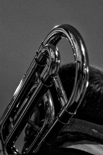 Jazz Jazzband Jazz Concert Blackandwhitephotography EyeEm Best Shots - Black + White Black And White Photography Music Trombone Musical Instruments