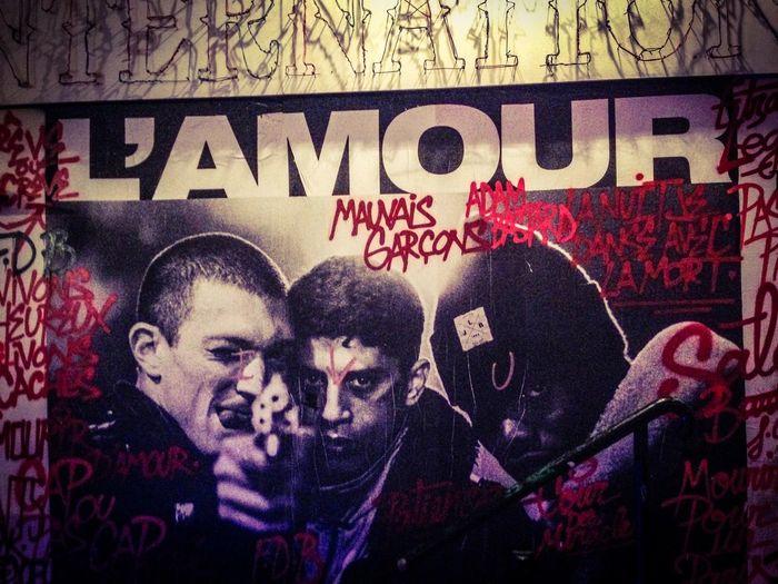 Paris L'amour La Haine Streetart/graffiti Streetart Jackleblack