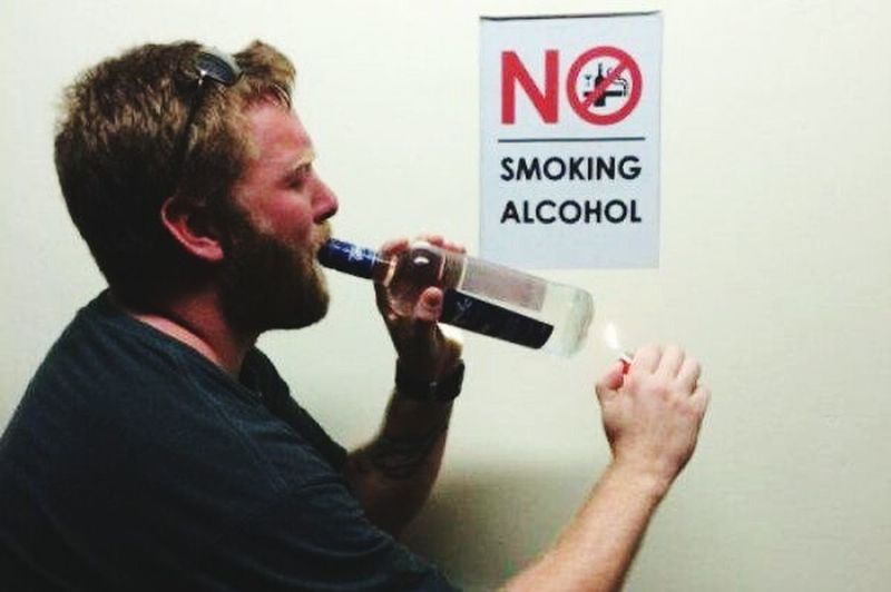 LOL OP No Rules What The...  Op People No Smoking No Alcohol