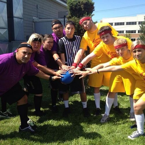 I think the only word to describe this is EPIC Dodgeball Nso2013