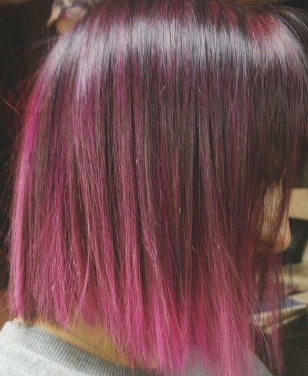 Hair Pinkhair IloveHair Pinky ❤ Interesing