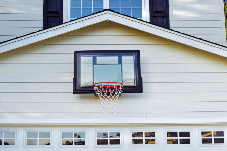 Architecture Basketball - Sport Basketball Hoop Building Exterior Built Structure Close-up Court Day No People Outdoors Sky Sport Window