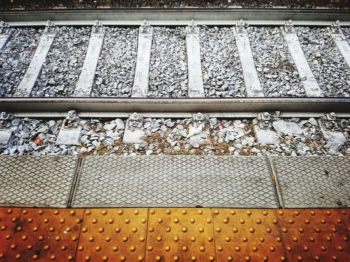 rails Rail Railing Train Station Train Tracks Platform Station Platform Transparent Iron Railway Track Railway Railway Station Backgrounds Full Frame LINE