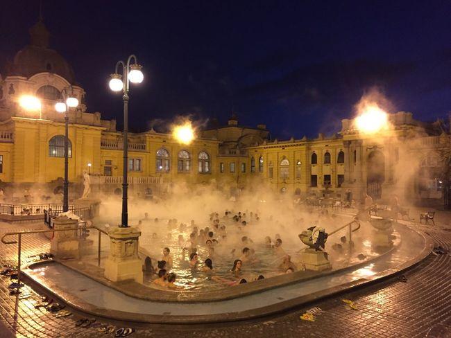 Budapest, Hungary Szechenyi Bath