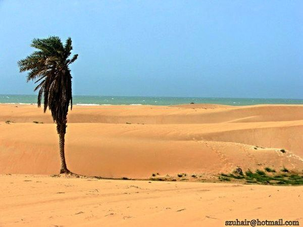 Coast Gwadar Ocean Pakistani Traveller clicked by cousin edited by me