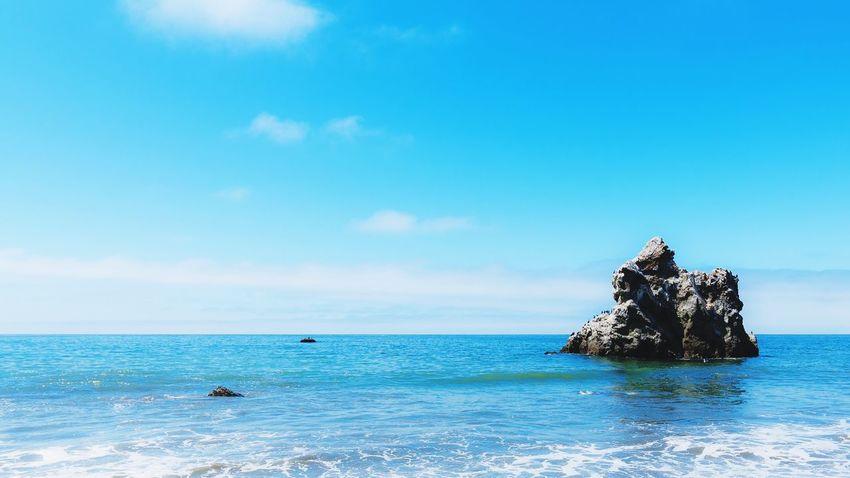 Rock in the Pacific Ocean (Bodega Bay, California) Sonomacounty California Ocean Landscape