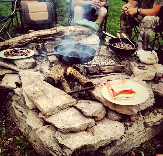 Indiana Campfire Fire Cookin Country Style