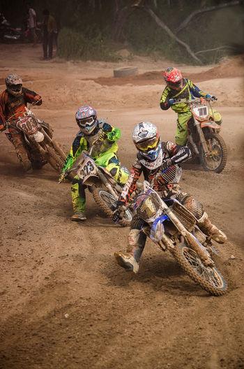 Action Shot  Bike Contests Motorbike Motorcross  Outdoors Racimg Racing Bike Sport