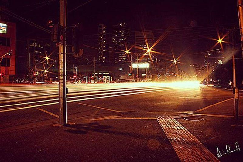 Longexposure Canon600D Parkst Kingsway streamlight