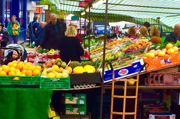 Leighton Buzzard Market Fruit & Vegetable Fruit Stall Fruit Food