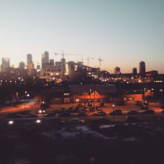 The view outside my window.. Downtown South Minneapolis